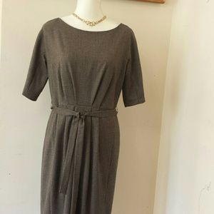 MaxMara Weekend checked belted dress size 12